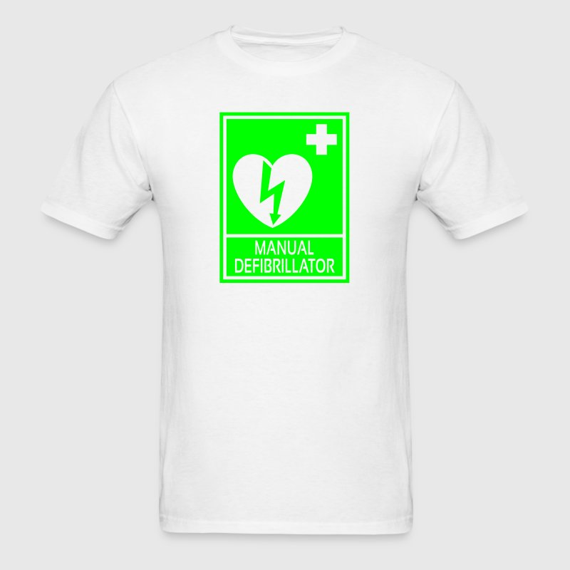 Manual Defibrillator - Men's T-Shirt