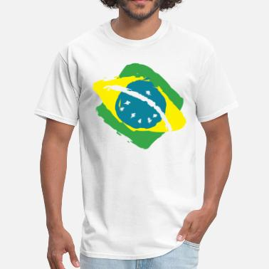 Brazil Flag of Brazil - Men's T-Shirt
