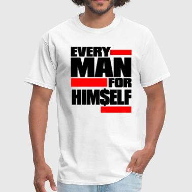 Hustle Hard Campaign everymanred - Men's T-Shirt