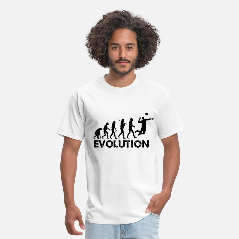 Evolution T-Shirts - Evolution Volleyball - Men's T-Shirt white