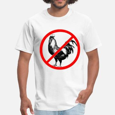 Gay Rooster No Roosters?! - Men's T-Shirt