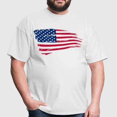 USA Flag - Men's T-Shirt