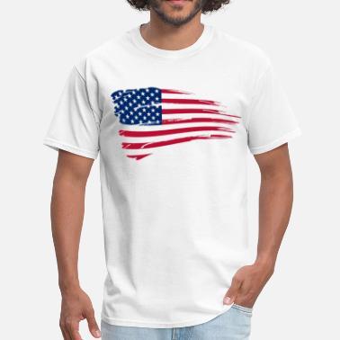 58e8b10aab7211 Shop Usa Flag T-Shirts online   Spreadshirt