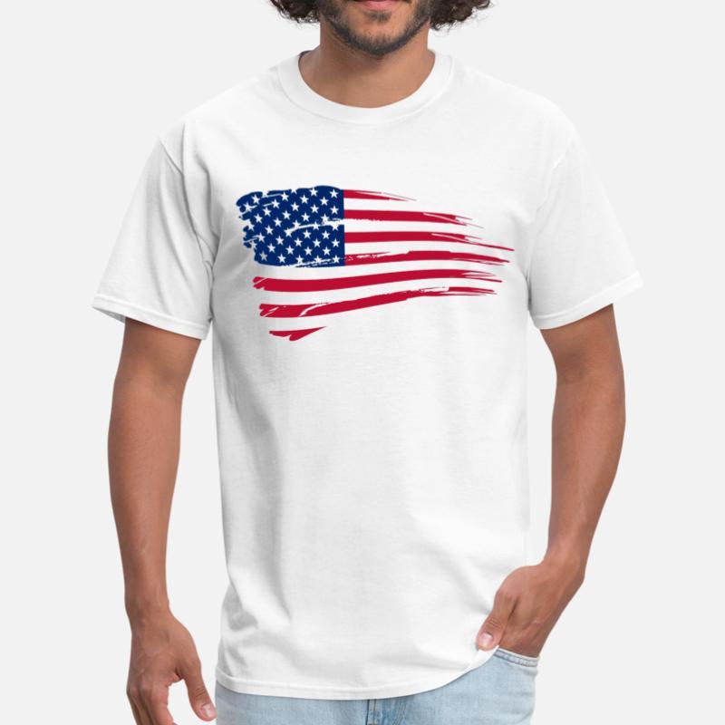 0465488684d Usa Flag T Shirts Sprehirt. V53 U S Flag Short Sleeve T Shirt Usa Chrome  Hearts