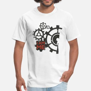 Gears I am a Mechanical Engineer by TeeSnaps - Men's T-Shirt
