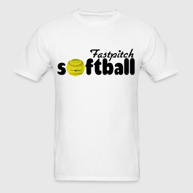 Fastpitch Softball - Men's T-Shirt