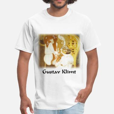 Klimt gustav_klimt__debauchery_unchastity_and_ - Men's T-Shirt