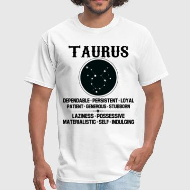 Taurus Zodiac Sign Taurus Zodiac Sign - Men's T-Shirt