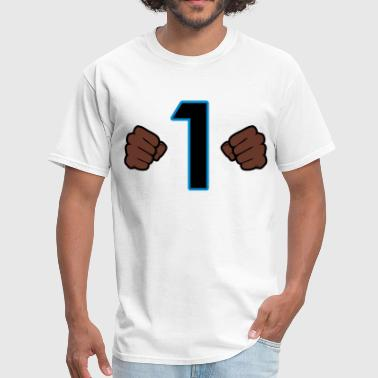 Carolina Cam Fists - Men's T-Shirt