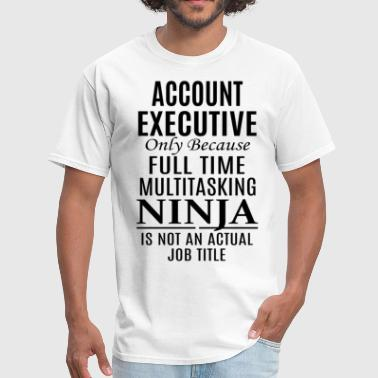Account Executive - Men's T-Shirt