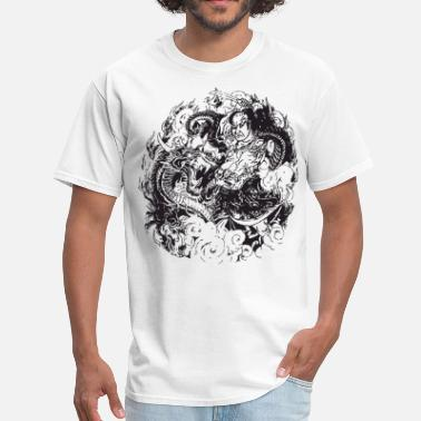 Japanese Tattoo Japanese Scene - Men's T-Shirt