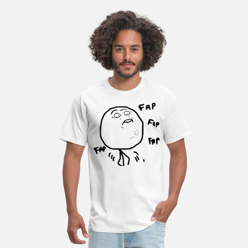 Animal T-Shirts - The Fapping - Men's T-Shirt white
