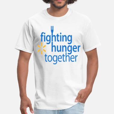 Fight Hunger Fighting hunger. - Men's T-Shirt
