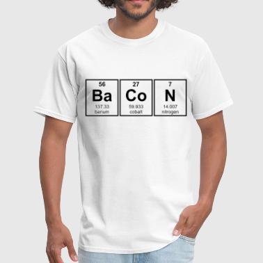 Shop periodic symbol t shirts online spreadshirt bacon periodic table element symbols men39s t shirt urtaz Image collections