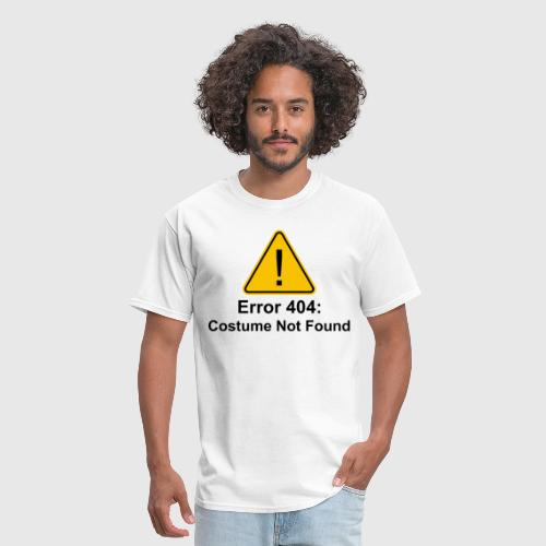 error 404 halloween costume not found by the shirt yurt spreadshirt