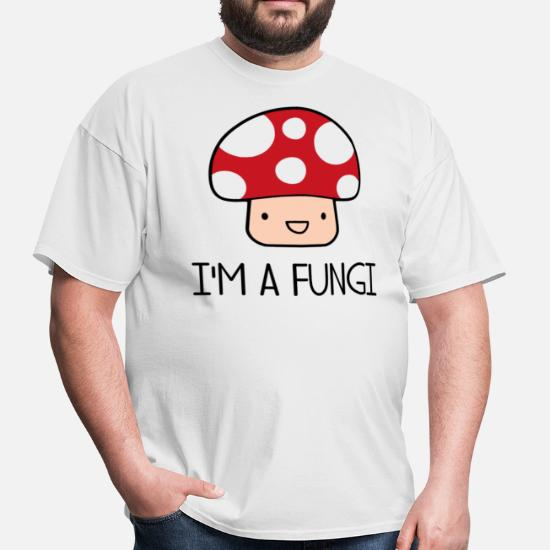 e3f27bf8 I'm a Fungi Fun Guy Mushroom Men's T-Shirt   Spreadshirt