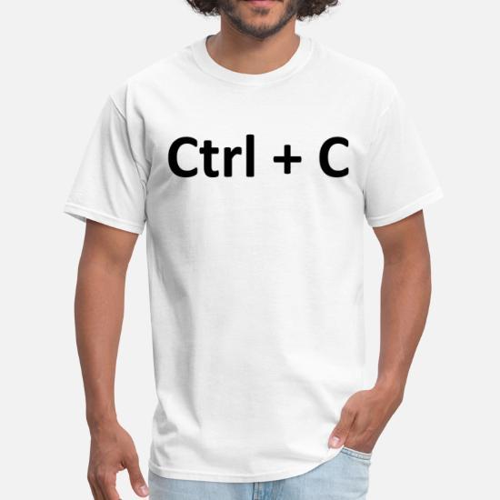 e1123f113 Baby T-Shirts - Ctrl C Copy Paste - Men's T-Shirt white. Customize