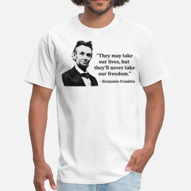 Thomas Jefferson Quotes Abraham Lincoln Troll Quote - Men's T-Shirt