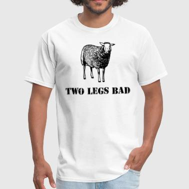 Two Legs Bad Sheep - Men's T-Shirt