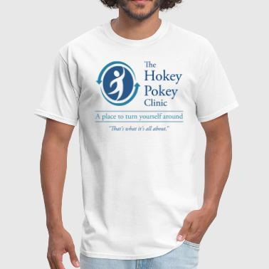Hokey Pokey Anonymous The Hokey Pokey Clinic - Men's T-Shirt