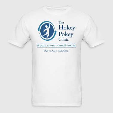 The Hokey Pokey Clinic - Men's T-Shirt