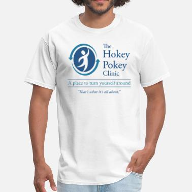 Alcoholics Anonymous The Hokey Pokey Clinic - Men's T-Shirt