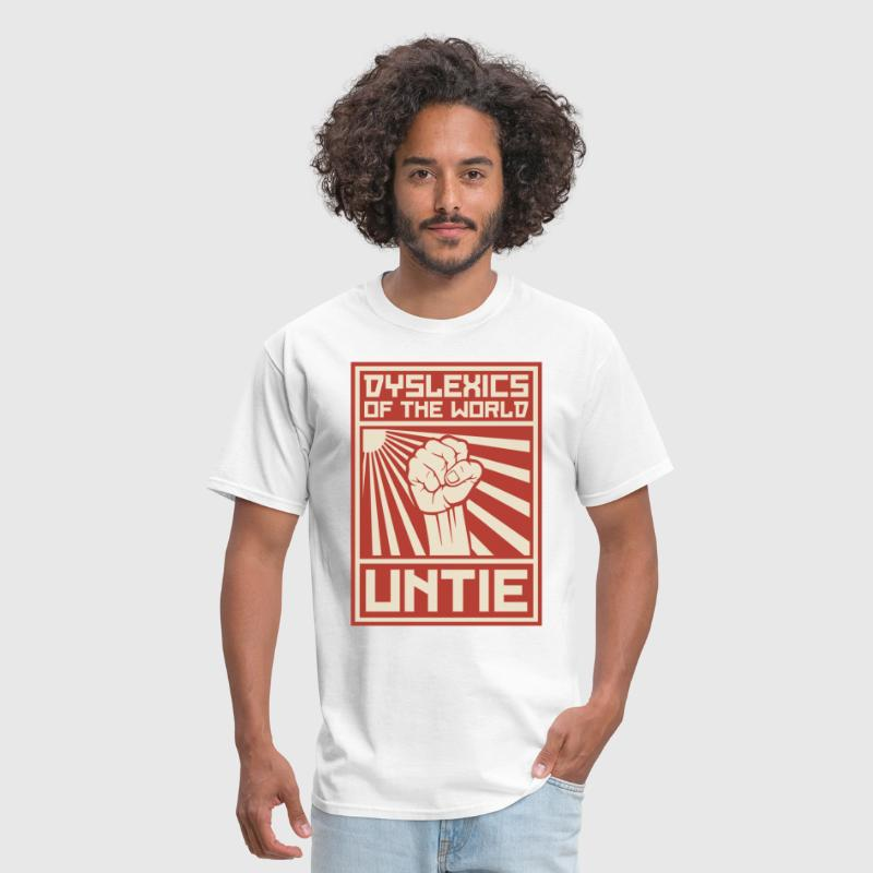 Dyslexics of the World UNTIE - Men's T-Shirt