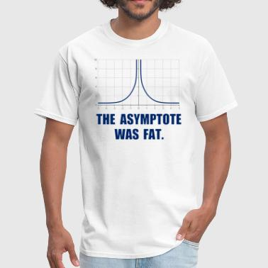 The Asymptote was Fat - Men's T-Shirt