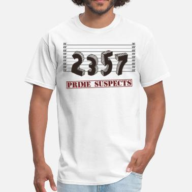 Seven Five Seven The Prime Number Suspects - Men's T-Shirt