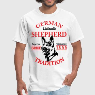 German Shepherd Tradition - Men's T-Shirt