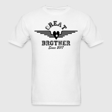 Great Brother Since 2017 - Men's T-Shirt