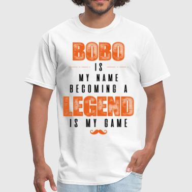 Become Legend Dappa Is My Name Becoming A Legend Is My Game - Men's T-Shirt