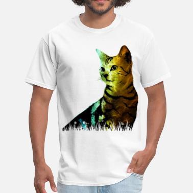 e3466e8ce Graphic Art Cat graphic art - Men's T-Shirt