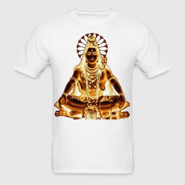 Golden shiva - Men's T-Shirt