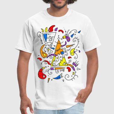 artistic surrealist - Men's T-Shirt