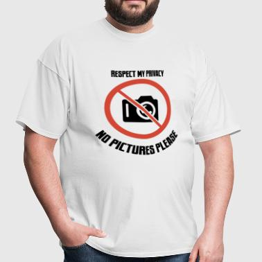 no pictures please - Men's T-Shirt
