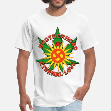 Brotherhood of Eternal Love Hippie Mafia - Men's T-Shirt