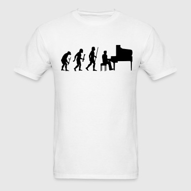 Evolution of Piano - Men's T-Shirt
