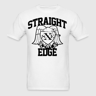 Straight Edge Eagle - Men's T-Shirt