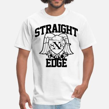 Edge Straight Edge Eagle - Men's T-Shirt