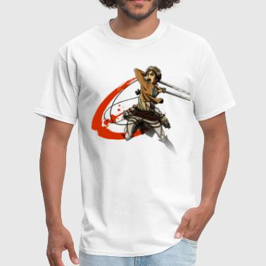 Slash Kids Attack On Titan Slash  - Men's T-Shirt