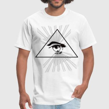 Pyramid illuminati - Men's T-Shirt