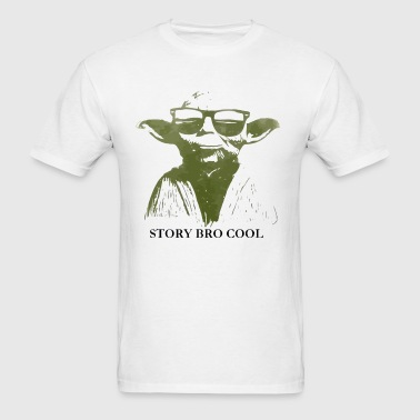 Cool story bro by Yoda - Men's T-Shirt