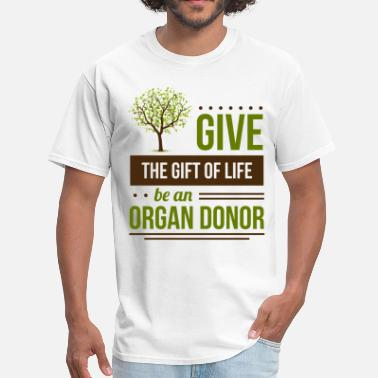 Donation give_life - Men's T-Shirt
