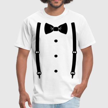 Bow tie for the cool guy - Men's T-Shirt