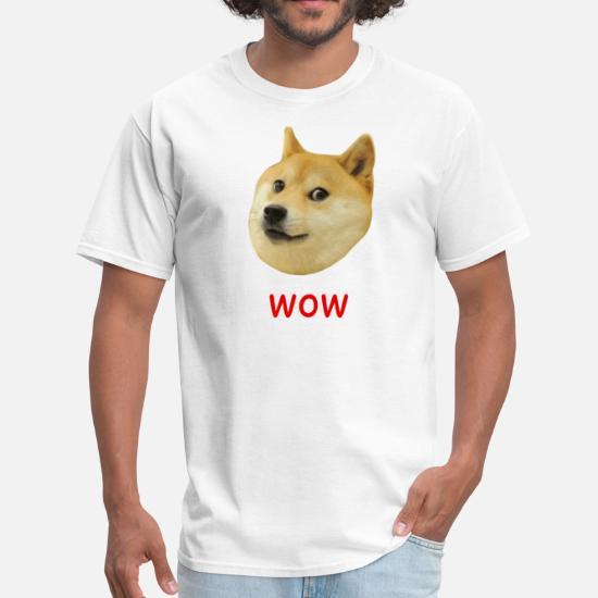Doge Very Wow Much Dog Men's T-Shirt | Spreadshirt