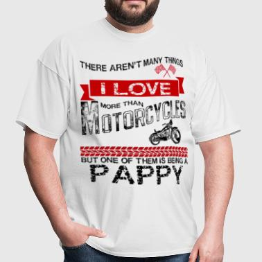 This Pappy Loves Motorcycles - Men's T-Shirt