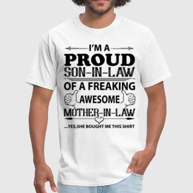 I Love Son-in-law  I'm Proud Son in law - Men's T-Shirt