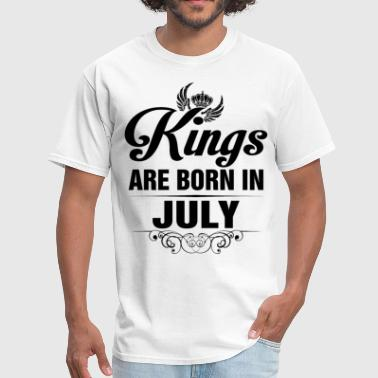 Born In July Kings Are Born In July Tshirt - Men's T-Shirt