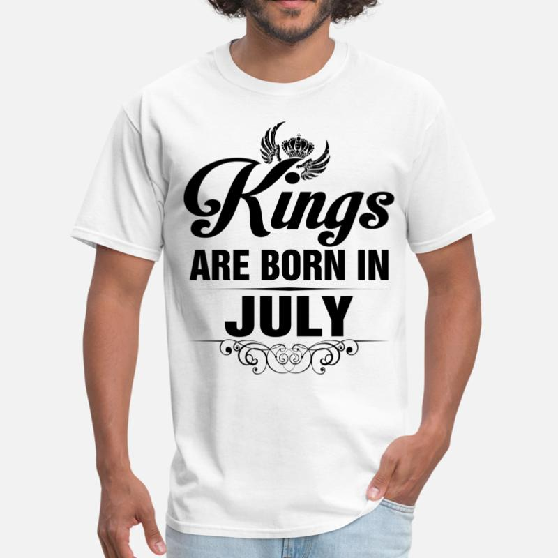 Shop Born in July T-Shirts online   Spreadshirt